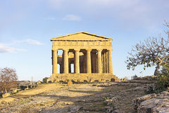 Agrigento temple in Sicily Stock Photo