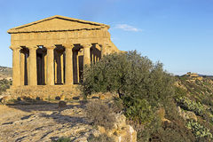 Agrigento temple in Sicily Stock Photography