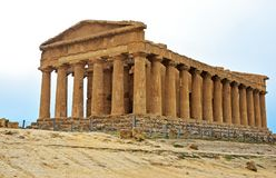 Agrigento Valle dei Templi. Sicily, Italy Royalty Free Stock Photos