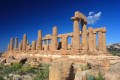 Agrigento, Valley of the Temples. Valle dei Templi in Agrigento Sicily Stock Images