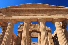 Agrigento, Valley of the Temples Royalty Free Stock Photography