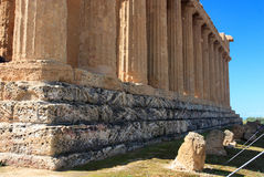 Agrigento, Valley of the Temples Royalty Free Stock Images