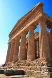 Agrigento, Valley of the Temples. Valle dei Templi in Agrigento Sicily Stock Photo
