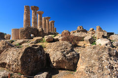 Agrigento, Valley of the Temples Royalty Free Stock Photo