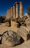 Agrigento, Valley of the Temples Royalty Free Stock Image