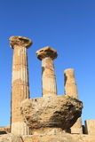Agrigento Valley of Temples in Sicily Stock Photography
