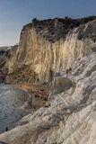 Agrigento wybrzeża linia, Sicily Fotografia Stock