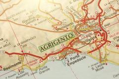 Agrigento Wyspa Sicily, Włochy Obraz Stock