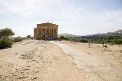 agrigento zgoda rujnuje świątynię Fotografia Royalty Free