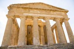 agrigento zgoda rujnuje świątynię Fotografia Stock