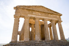 agrigento zgoda rujnuje świątynię Obrazy Stock