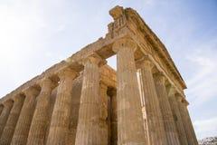 agrigento zgoda rujnuje świątynię Zdjęcie Stock