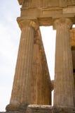 agrigento zgoda rujnuje świątynię Zdjęcia Stock