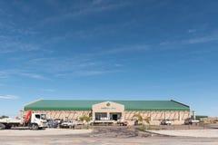 Agrimark ett agricalturedetaljhandellager i Kakamas arkivbild