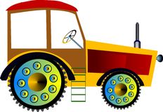 Agrimotor Stock Illustrationer