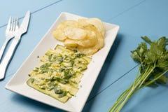 Agrios vegan chips Stock Photos