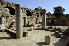 Agrippa palace ruins, Israel Stock Photography