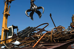 Agrippeur de Scrapyard Photos stock
