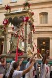 Γιορτή προς τιμή Άγιο Agrippina στη Βοστώνη, ΗΠΑ Στοκ εικόνα με δικαίωμα ελεύθερης χρήσης