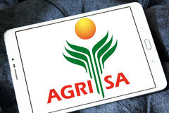AgriSA agriculture company logo Stock Photo