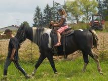 Agritourism - artykuł wstępny Zdjęcia Stock