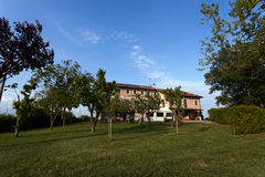Agritourism in Veneto, Italy. Agritourism, as it is defined most broadly, involves any agriculturally-based operation or activity that brings visitors to a farm Stock Images