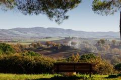 Agriturismo w Włochy Zdjęcia Royalty Free
