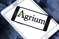 Agrium agriculture company logo Royalty Free Stock Photo