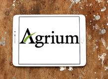 Agrium agriculture company logo Stock Photo