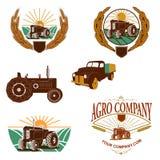 Agro calibre de logo de société Images libres de droits