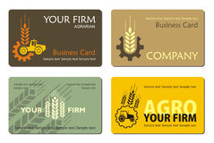 Agro_card Stockfotos