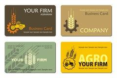 Agro_card Stock Photos