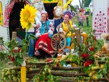 Agro exposition annuelle SUMY-2012 Photos libres de droits