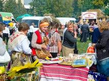 Agro exposition annuelle SUMY-2012 Image libre de droits
