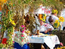 Agro exposition annuelle SUMY-2012 Photo stock