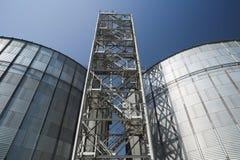 Agro-Industrie Storage Technology Moderner High-Techer Getreidespeicher Groß ich Stockfotos