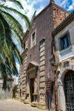 ` Agro, Italia di Forza d - 6 agosto 2009: La chiesa medievale degli ss trinità Fotografia Stock Libera da Diritti