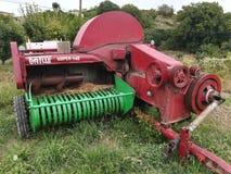 Agro maszyneria żniwiarz Zdjęcia Stock