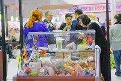 Agro powystawowa Złota jesień, rosjanin Fotografia Stock