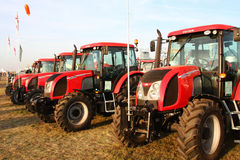 Agro Show 2009 - ZETOR Expo Stock Photo
