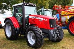 Agro Show Barzkowice 2009 - Masey Fergusson Stock Image