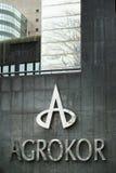 Agrokor logo Zdjęcia Royalty Free
