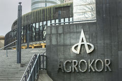 Agrokor logo Zdjęcie Stock