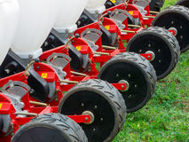 Agronomic machine Royalty Free Stock Image
