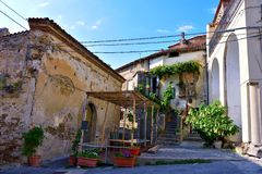 Agropoli Σαλέρνο Ιταλία στοκ εικόνες