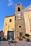Agropoli Σαλέρνο Ιταλία στοκ φωτογραφίες