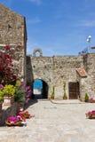 Agropoli Aragonese kasztel zdjęcia royalty free