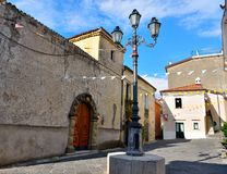 Agropoli Salerno Itália imagem de stock royalty free