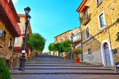 Agropoli Salerno Itália fotos de stock royalty free