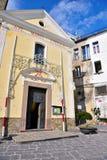 Agropoli Salerno Italy. Church of Saints Peter and Paul Agropoli Salerno Italy stock photography